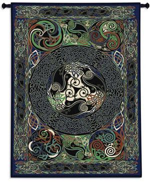 Celtic's Lore, Raven's Panel Tree of Life Tapestry