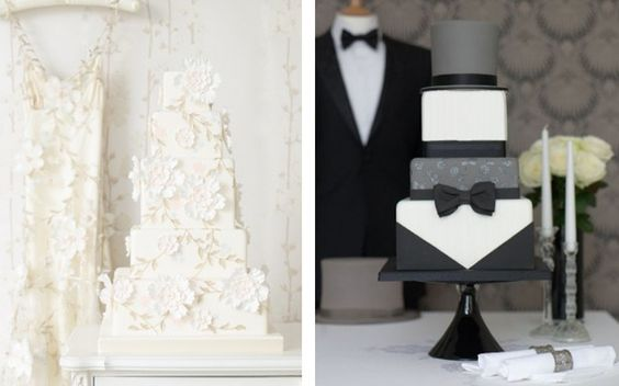 Fashion Inspired Wedding Cakes - Part 3 - Belle the Magazine . The Wedding Blog For The Sophisticated Bride