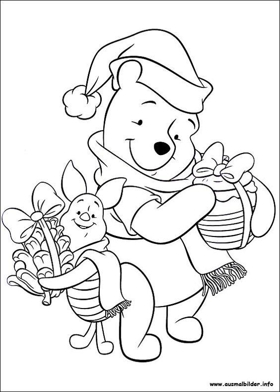 Weihnachten unter Freunden malvorlagen   ausmalbilder   Pinterest ...