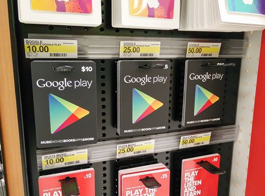 Gift Cards 100 Google Play Gift Card Redeem All Countries