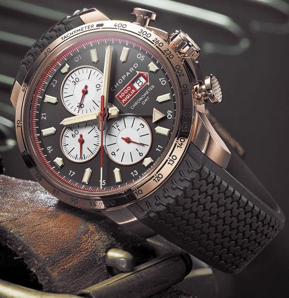 Mille Miglia 2013, de Chopard, el cronógrafo indispensable de carreras históricas