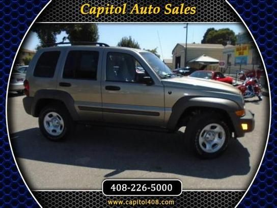 Sport Utility 2007 Jeep Liberty 4wd Sport With 4 Door In San Jose