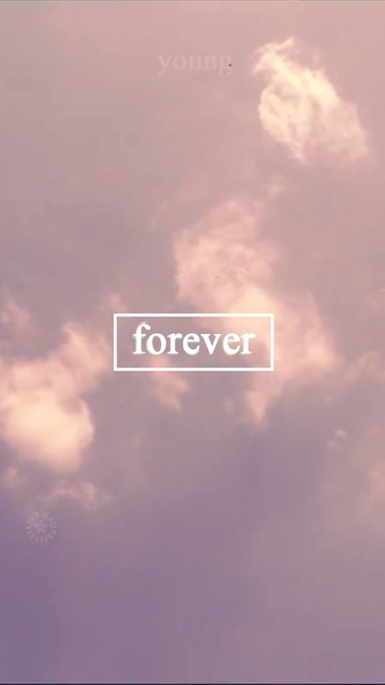 Wallpaper Love Forever Quotes : bts young forever mix Pinterest Boys, BTS and Wallpapers