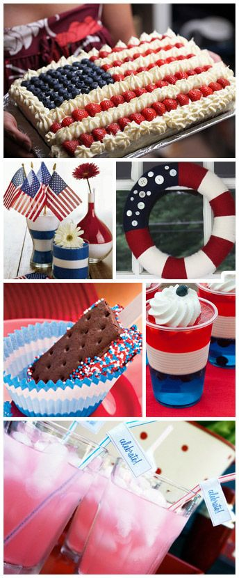 fourth of july fun foods