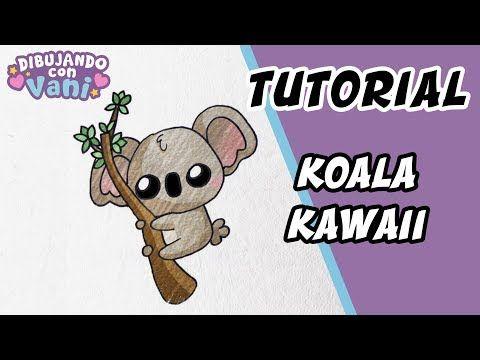 Como Dibujar Un Koala Kawaii Dibujos Anime Faciles Paso A Paso
