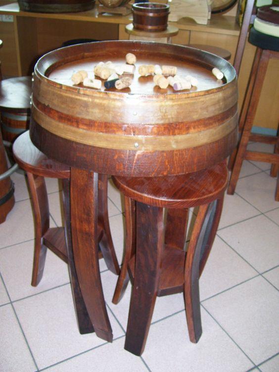 Tavolo con sgabelli a scomparsa  Wine room  Pinterest