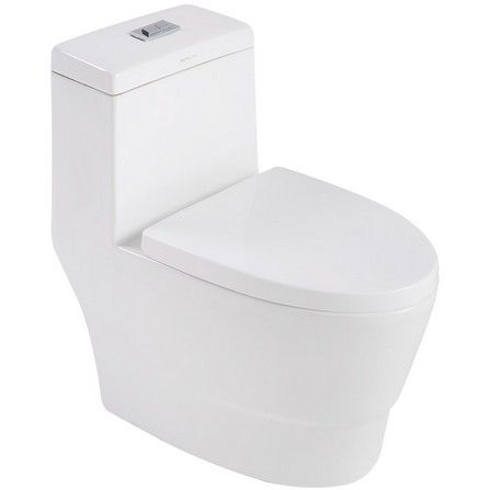 image for ONE PIECE TOILET B-4620 3/4.5L WH from DirectToshop.com