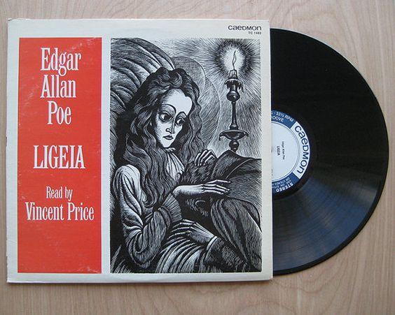 Sale Edgar Allan Poe Vinyl Record Bundle Rare Quot Ligeia