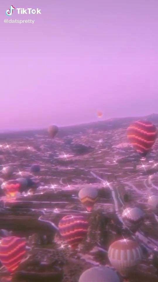 Hot Air Balloons Aesthetic Videolar Sky Aesthetic Aesthetic Photography Nature Instagram Aesthetic