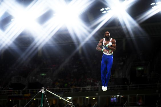 RIO DE JANEIRO, BRAZIL - AUGUST 10:  Axel Augis of France competes on the horizontal bar during the Men's Individual All-Around final on Day 5 of the Rio 2016 Olympic Games at the Rio Olympic Arena on August 10, 2016 in Rio de Janeiro, Brazil.  (Photo by Matthias Hangst/Getty Images) via @AOL_Lifestyle Read more: http://www.aol.com/article/2016/08/12/olympian-drops-out-of-summer-games-to-protect-beloved-horse/21450160/?a_dgi=aolshare_pinterest#fullscreen