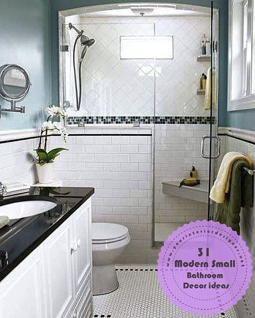31 Advice For Those Who Want To Modernize Their Small Bathrooms Page 4 Of 31 Your Interior Designer Trendy Bathroom Tiles Top Bathroom Design Diy Bathroom Remodel