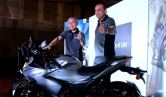Suzuki Brand New GIXXER SF 250 Motercycle Launch At Chennai