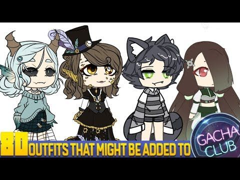 80 More Outfits That Might Be Added To Gacha Club Youtube In 2020 Club Outfits Cute Little Animals Club Style