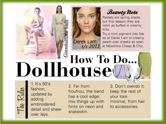 """the trend: Dollhouse"" by chloejay1988 ❤ liked on Polyvore"