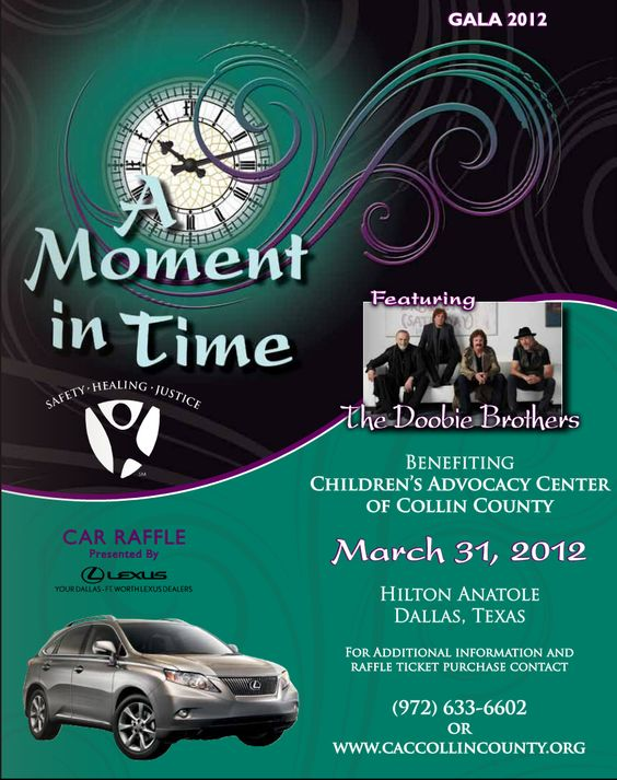 """ A moment in time"" a Gala brought to you by the Children's Advocacy Center of Colin County!"