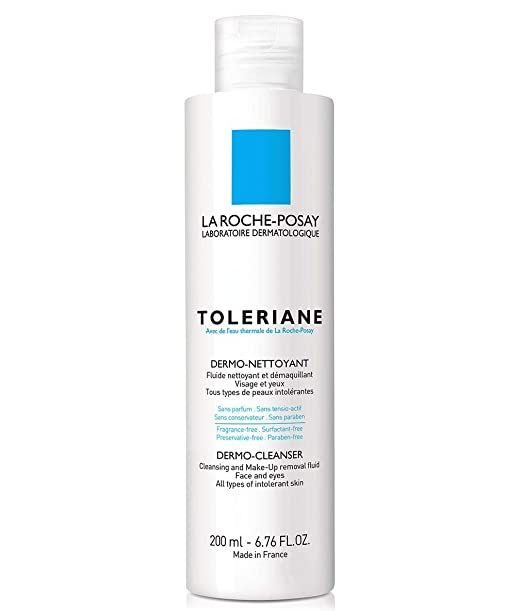Amazon Com La Roche Posay Toleriane Dermo Cleanser 6 76 Fl Oz Premium Beauty Treating Hyperpigmentation Best Makeup Remover Face Cleanser
