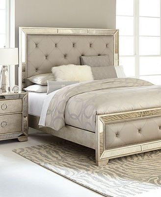 Rana Furniture Bedroom Sets : furniture, bedroom, Furniture, Ailey, Bedroom, Collection, Reviews, Macy's, Mirrored, Furniture,, Collections