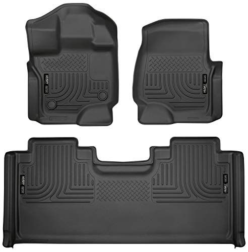 2015 2017 Ford F 150 Floor Mats Front Ford F150 Custom Tech Weather Resistant