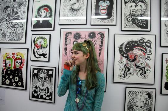 Grimes - Claire Boucher -Artwork