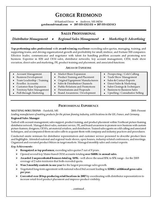Telecommunications Resume Example Resume examples and Resume writing - areas of expertise examples
