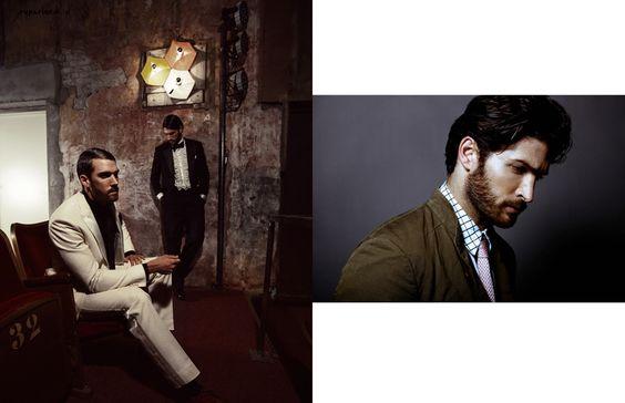 SUPERIOR ONLINE - Fashion Editorial by LUPO PORSCHEN & JOHANNES KUCZERA