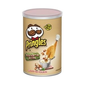 "Pringles ""Mushroom Soup Flavor"", 53g, ¥248"