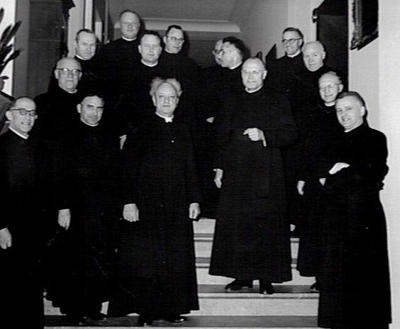 Jezu eten groep geestelijken in de katholieke kerk die strijden voor een zuivere leer en de - Geloof peinture ...