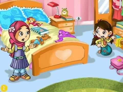 قصة قصيرة بعنوان النظافة من الايمان شبكة العربية العامة Classroom Labels Youtube Kids