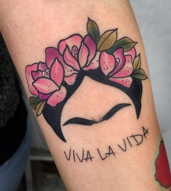 Frase Viva La Vida Por Frida Kahlo Tatuajes Frida Kahlo