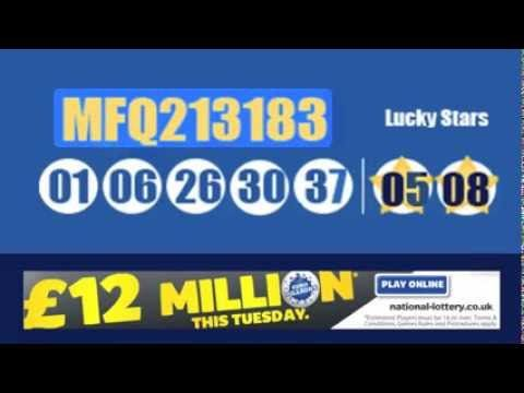The Euromillions Results for Saturday 23rd August 2013 in our revolutionary YouTube video as we unfold the latest draw #euromillions #lottery