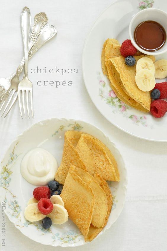 Chickpea Crepes