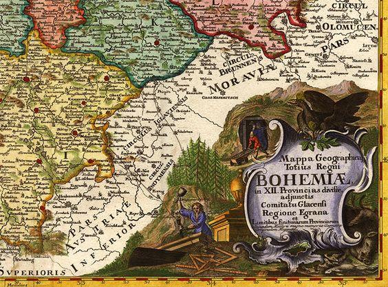 Historic map Historická mapa