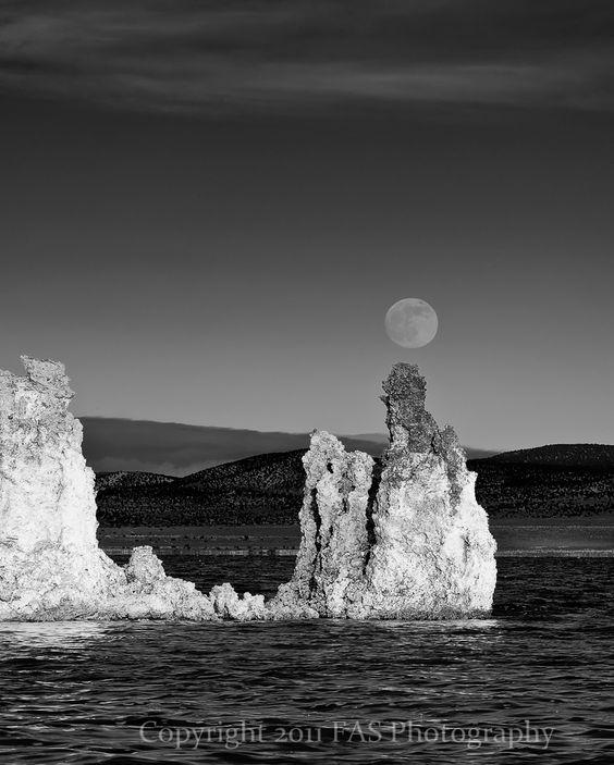 Tufa Moonrise #1