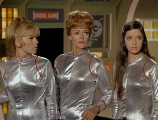 The girls from Lost In Space