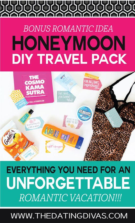 DIY Honeymoon Kit- fun gift idea for your groom