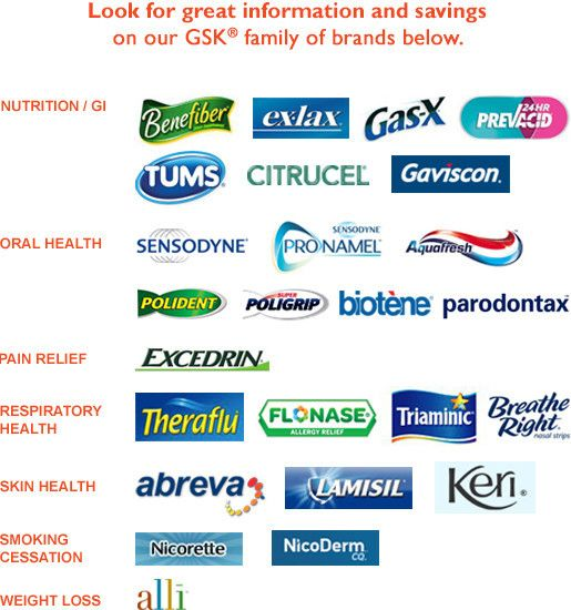 Gsk Consumer Healthcare Featured Brands My Military Savings Health Care Oral Health Skin Health