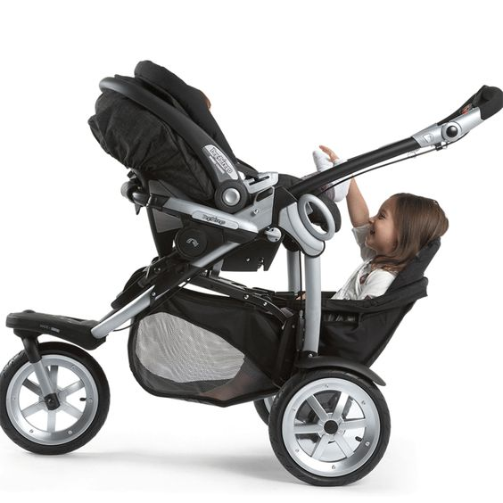 Peg Perego 2010 GT3 for Two All Terrain Double Stroller in Java ...