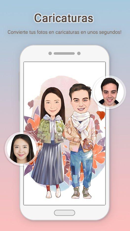 Momentcam Aplicación Creativa Para Convertir Tus Fotos En Caricaturas Convertir Foto A Caricatura Fotos En Caricatura Fotos