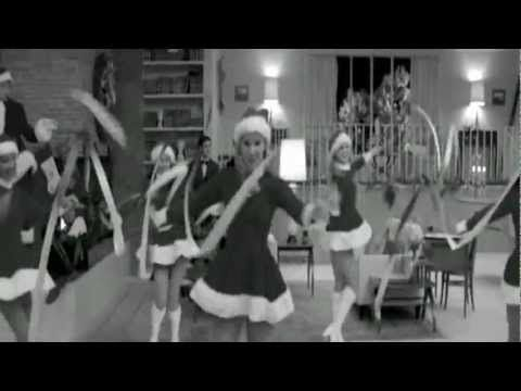 glee - brittany - christmas wrapping |  was forced to watch glee this week, but i did enjoy this number muy mucho.