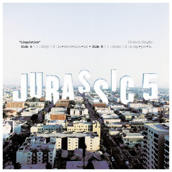 Jurassic 5 – Linguistics (single cover art)