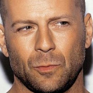 Bruce Willis: Longtime crush since Moonlighting. I still love him. I think it's his confident smirk and sarcastic nature...