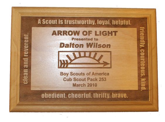 arrow 8x10 arrow inch arrow arrow of light cub scouts scout arrow. Black Bedroom Furniture Sets. Home Design Ideas