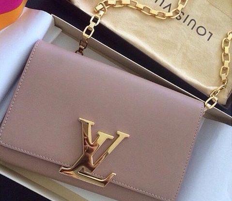 Louis Vuitton Louise PM leather bag