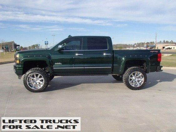 2015 chevrolet silverado 1500 high country lifted truck lifted chevy trucks for sale. Black Bedroom Furniture Sets. Home Design Ideas