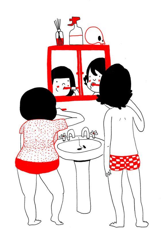 Ilustrações Mostram Que O Amor Está Nas Pequenas Coisas: