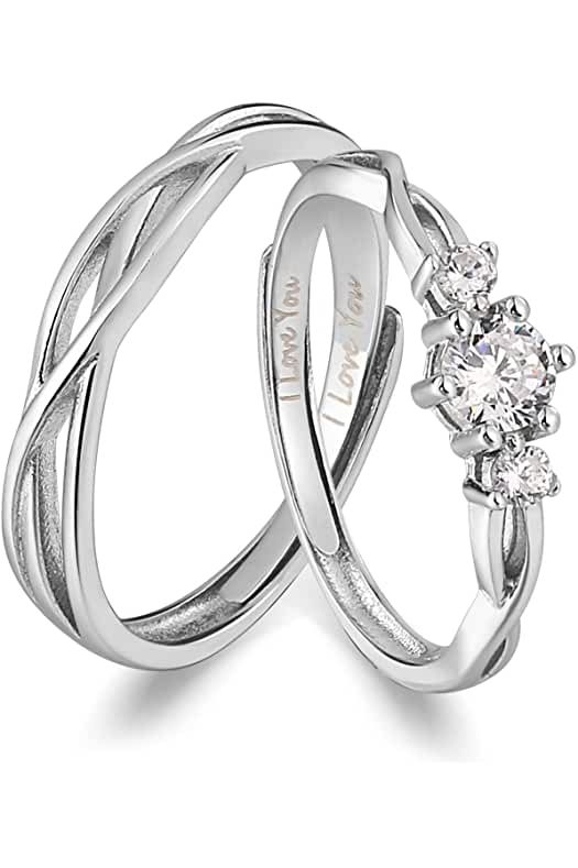Amazon.com : promise rings for her unique