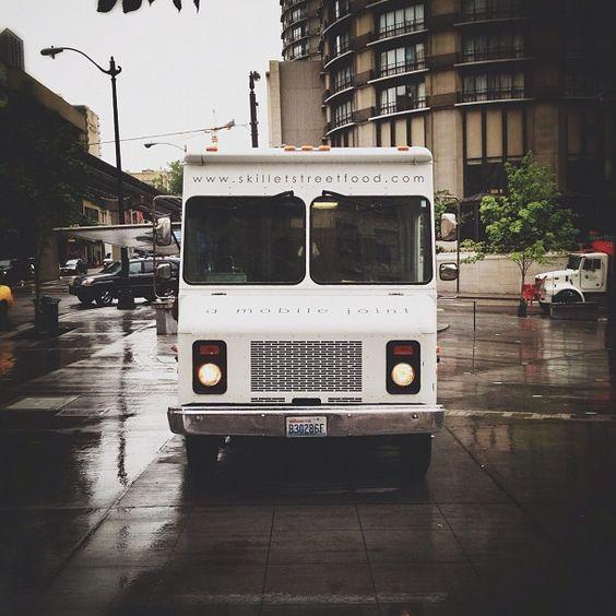 Seattle Foodtruck Yesterday Vscocam Road Trip Trip Food Truck