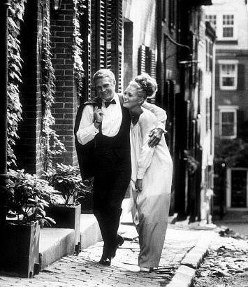 Faye Dunaway and Steve McQueen in the Thomas Crown Affair