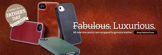 FabShell Luxe for iPhone 4S/4