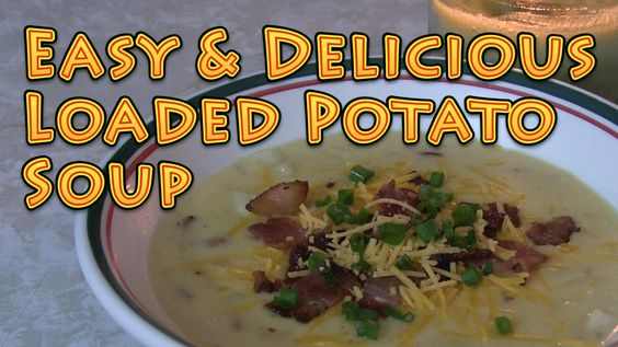 Loaded Baked Potato Soup Cheap Meals for Big Families UNDER $6